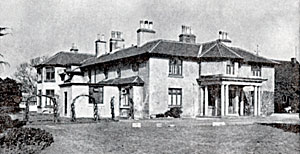 Adbolton Hall in its role as Country Recovery Home belonging to the Nottingham Hospital for Women.