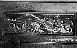 Carving in Attenborough Church