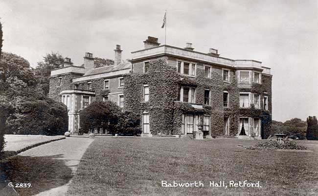 Babworth Hall, c.1935