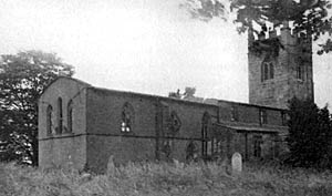 Barnby-in-the-Willows church, c.1911.