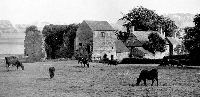 Beauvale Priory from the north-west in the 1930s.