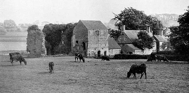 Beauvale Priory in the 1930s.