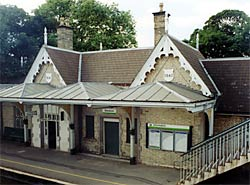 The railway station, Beeston, was built in 1847 for the Midland Railway (photo: A Nicholson, 2003).
