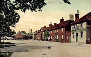 A view along High Street, Blyth, c.1910.