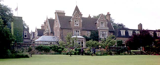 Bramcote Hall in the early 1960s.