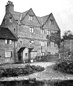 North side of Bramcote Manor House