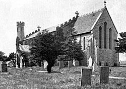 St James' church, Brinsley, c.1900.
