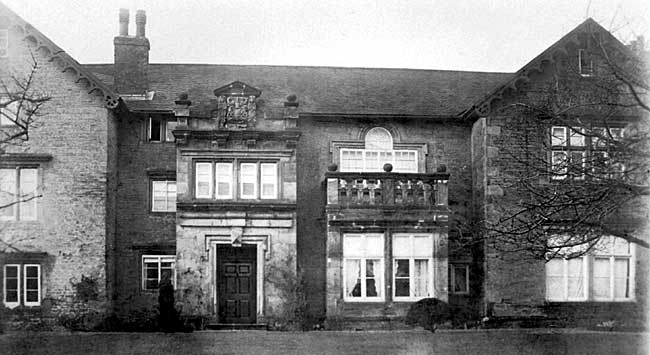 Broxtowe Hall in the 1920s.