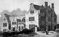 Broxtowe Hall in 1833.