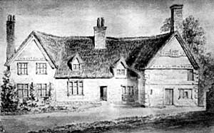 Clayworth Rectory, from a drawing: date 1792.