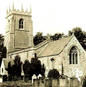 North and South Clifton church in the 1920s.