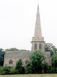 Colston Bassett (new) church in 2003.