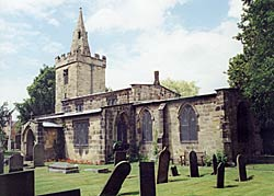 St Catherine's church, Cossall, dates from the 13th and 14th centuries (photo: A Nicholson, 2004).