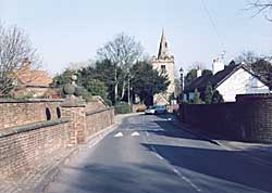St Catherine's church, Cossall