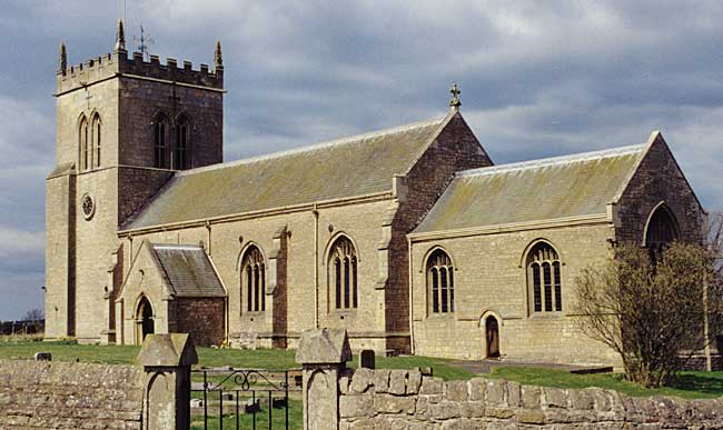 St Mary's church, Cuckney (photo: A Nicholson, 2002).