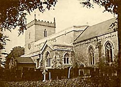 St Peter's Church, East Bridgeford in 1914