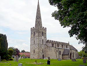 East Leake church in 2008.
