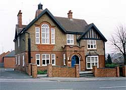 The old Eastwood Urban District Council offices on Church Street (Photo: A Nicholson, 2003).