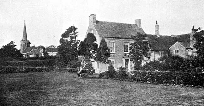 Odingsells Manor House.