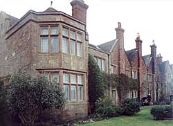 The east front of Felley Priory (photo: A Nicholson, 2004).