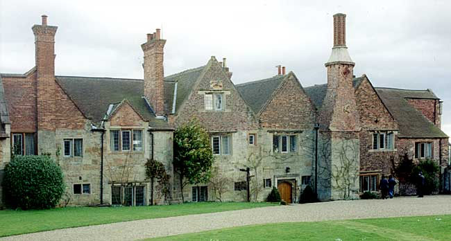 West front of Felley Priory