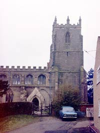 Gamston church in 1982.