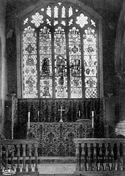 High Altar and East Window.