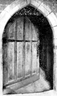 The Church Door. 1320 A.D.