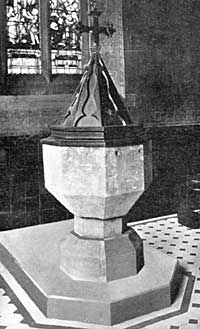 The 14th Century Font.