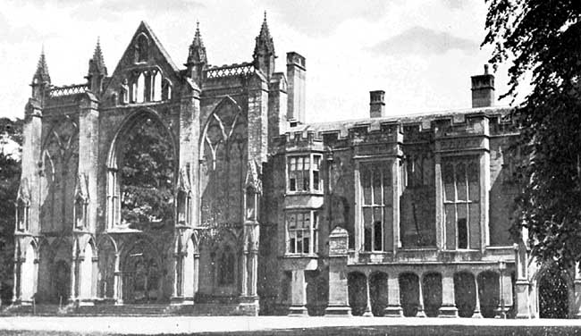 Newstead Priory—The Home of the Byron Family. 1540 - 1818 A.D.