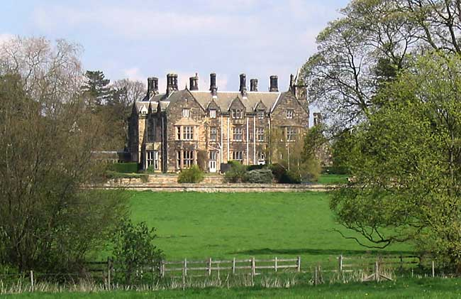 Kingston Hall, was designed by Edward Blore and built 1842-6 (photo: A Nicholson, 2006).