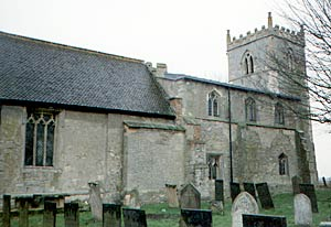 Langford church from the north in 2003.