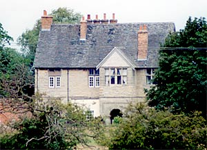 Langford Old Hall ('the Tudor manor house') in 2003.