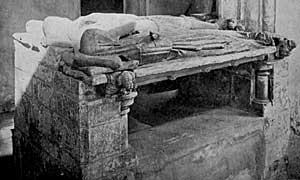 Everingham tomb, Laxton.