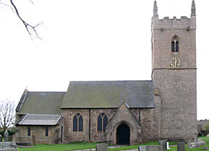 Linby church (photo: Andrew Nicholson, 2005).