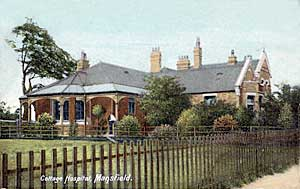 Cottage Hospital, Mansfield.