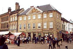The Moot Hall in Mansfield
