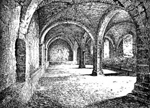 The Castle Crypt.