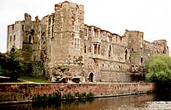 The west front of Newark Castle