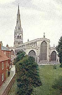 The church of St Mary Magdalene, Newark-on-Trent (c.1905).