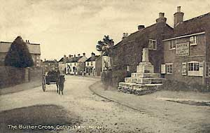 The Butter Cross, North Collingham, c.1905.