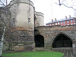 The gatehouse dates from 1252-55 but was heavily restored in the Victorian period (A Nicholson, 2004).