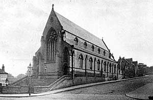 The Baptist chapel on Derby Road was built c.1850 and closed in the mid-1960s.