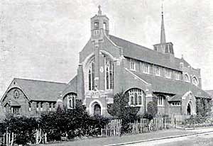 The exterior of St Stephen's, Hyson Green.
