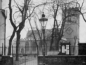 St Nicholas' church in the late 1930s.