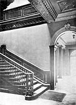Bromley House staircase.