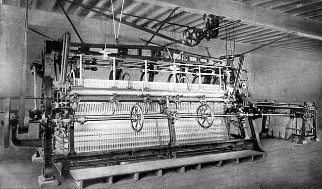 lace machine