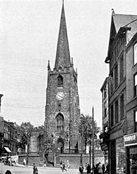 St Peter's church in the early 1930s.