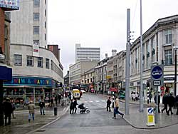 Friar Lane from South Parade (A Nicholson, 2004).