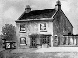 Toll house, London Road.